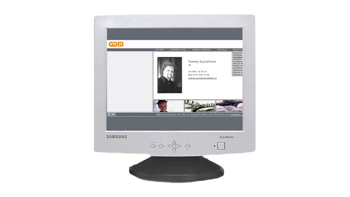 2001 – Tolv anställda.